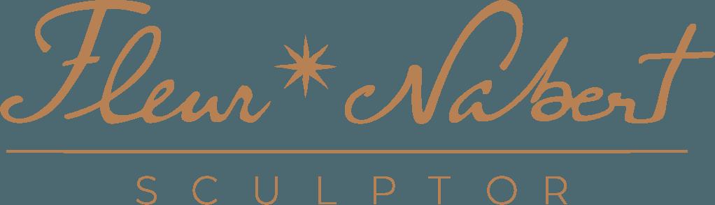 logo site fleur nabert sculpteur caramel Français